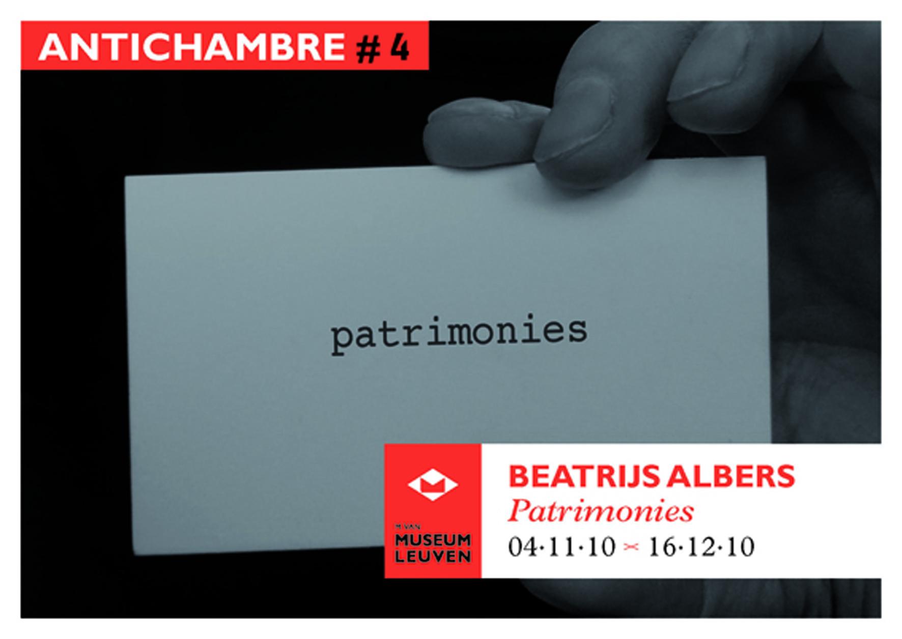 4Invitation_Beatrijs_Albers_Antichambre